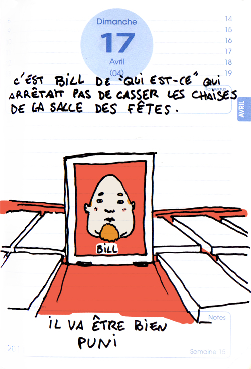 Bill est coupable