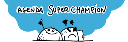 L'agenda Super Champion, par Erwan Poindron