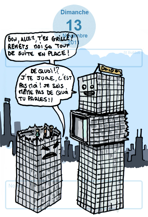 blague de buildings
