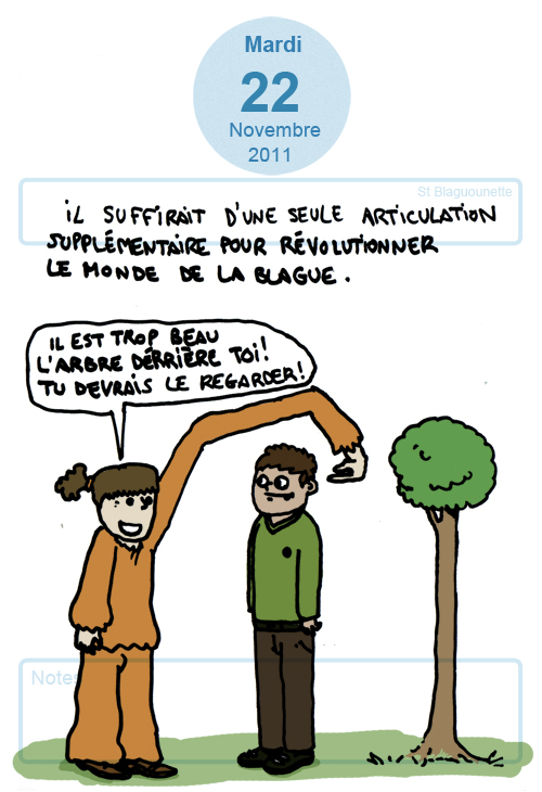 la révolution de la blague